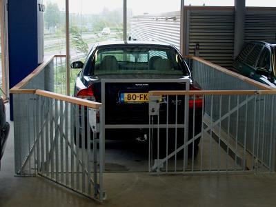 autolift boven zijde
