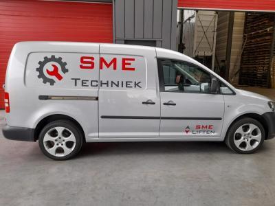 De nieuwe service auto van SME Techniek