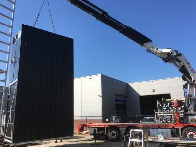 Groot goederenlift voor gebruik bij Garagepark © SME Liften BV