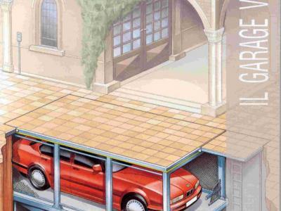 parkeren onder uw huis kan op deze manier en z.g paraplu op een autolift geplaatst